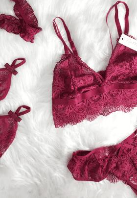 lingerie sensual alita sem bojo combo desejo fio morena jf