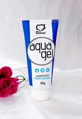 tamanho card lubri aqua gel